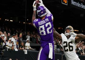 Rudolph the red-zone mismatch! TE wins jump ball for walk-off TD