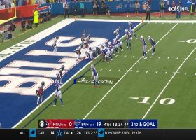 Bills' RPO play design frees up Knox for second TD