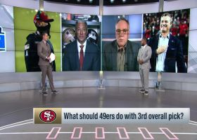 MJD, Zierlein at odds over whether 49ers should draft Trey Lance