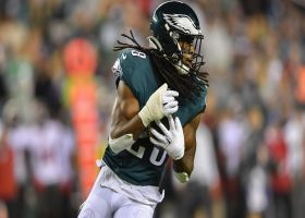 Anthony Harris picks off Brady for first INT with Eagles