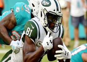 Quincy Enunwa makes picturesque diving grab