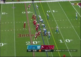 Chase Edmonds' 15-yard catch and run puts Cards at goal line