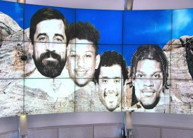 What's the Mt. Rushmore of active NFL QBs in 2021?