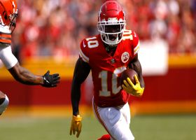 Every Tyreek Hill catch from 197-yard game vs. Browns | Week 1