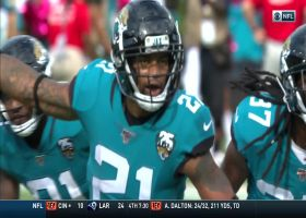 A.J. Bouye outruns Jets offense for INT