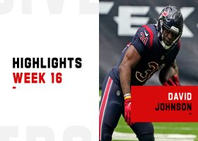 David Johnson's best plays from 139-yard game | Week 16