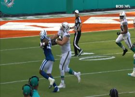 Brissett coughs up the football on strip-sack by Stewart