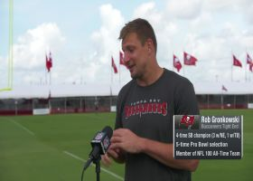 Gronk: Bucs' Super Bowl ring is 'magnificent'
