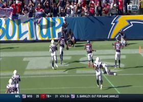 Can't-Miss Play: Watson channels Houdini to find Akins for 53-YARD catch-and-run TD