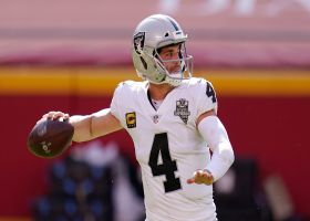 Burleson: Derek Carr proved to be 'the man for the future' by beating Mahomes
