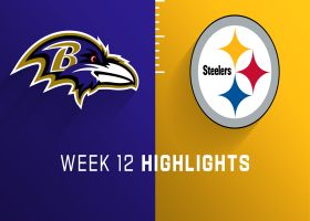 Ravens vs. Steelers highlights | Week 12