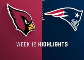 Cardinals vs. Patriots highlights | Week 12