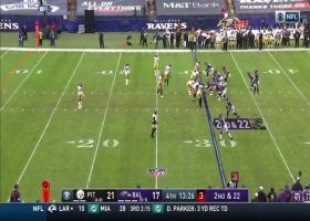 Lamar Jackson locates Willie Snead to pick up 24 yards on second-and-22