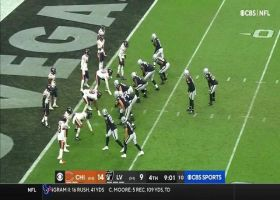 Khalil Mack denies Raiders' two-point try with sack No. 2