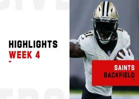 Best plays from Saints' dynamic backfield | Week 4