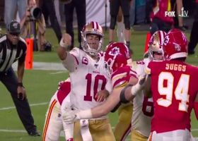 Chiefs' blitz gets to Jimmy G to force critical third-down incompletion
