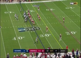 Russell Wilson rips laser throw to Will Dissly up the seam for 17 yards