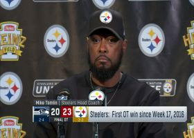 Mike Tomlin on the end of regulation sequence: 'It was an embarrassment'