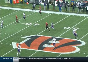 Brandon Allen's 21-yard pass to Cethan Carter takes Bengals into Ravens territory