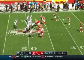 Carr finds Darren Waller over the middle for 23-yard pickup