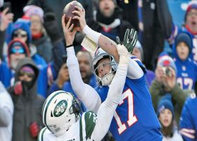 Bills' rendition of 'Philly Special' goes through Josh Allen's hands