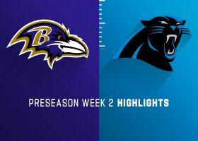 Ravens vs. Panthers highlights | Preseason Week 2