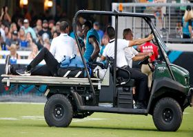 Marqise Lee injured after tackle by Damontae Kazee