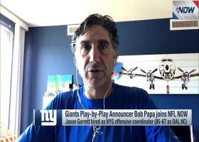 Bob Papa: Garrett was 'significant hire' for Giants, Jones
