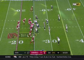 Cory Littleton ends Kyler Murray's lengthy scramble with huge sack