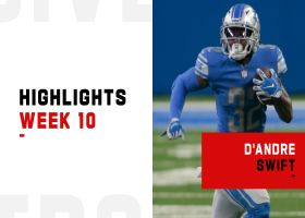 D'Andre Swift's best plays from 149-yard game   Week 10