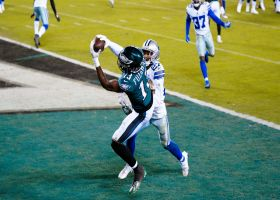 Fulgham beats Diggs for back-corner touchdown grab