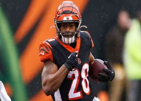 Joe Mixon TRUCKS Browns DB on angry 28-yard run
