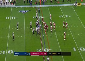 Cards' D stuffs Gurley inside red zone on fourth down