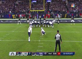 Nick Folk nails first FG attempt with Patriots