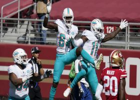 DeVante Parker makes easy work of 49ers' coverage for 22-yard TD