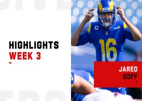 Jared Goff's best throws from 2-TD game | Week 3