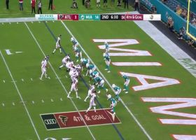 Eric Rowe's lockdown defense completes Fins' goal-line stand