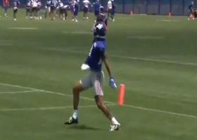 Kenny Golladay shows off one-handed catches at minicamp