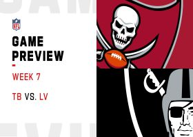 Buccaneers vs. Raiders preview | Week 7