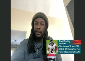 Gurley: 'I definitely have to reach out to' Arthur Smith on returning to Falcons