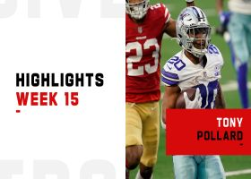 Tony Pollard's best plays against the 49ers | Week 15
