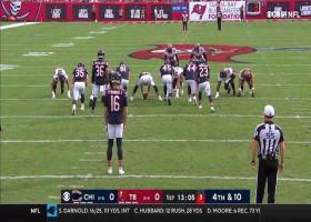 Jaelon Darden bursts through Bears for 43-yard punt return