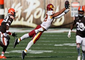 Logan Thomas makes spectacular diving catch for 14 yards