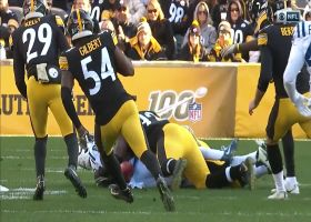 Steelers special teams recover fumble after Colts' safety