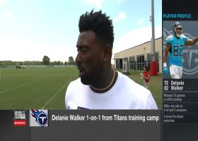 Tennessee Titans tight end Delanie Walker discusses where he's at in his rehab
