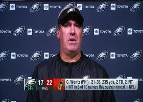 Doug Pederson reacts to Eagles' Week 11 loss to Browns