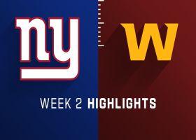 Giants vs. Washington highlights   Week 2