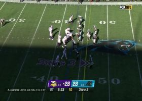 Kirk Cousins, K.J. Osborn move chains in overtime on key pass