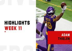 Every Adam Thielen catch from 2-TD game | Week 11