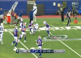 Nyheim Hines finds open space in 33-yard sprint downfield